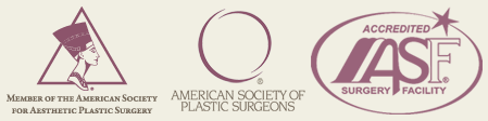 Member of the American Society for the Aesthetic Plastic Surgery, American Society of Plastic Surgeons Member, Accredited ASD Surgery Facility